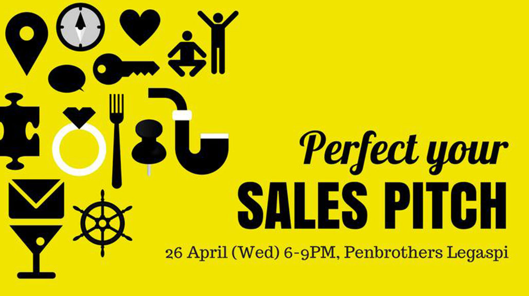 Perfect Your Sales Pitch - Philippines - April 26 (Event)