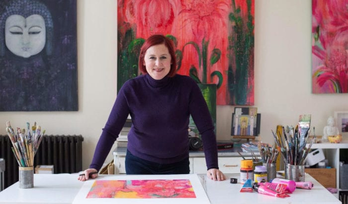 A Studio Tour With British Artist Clare Haxby