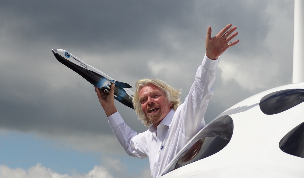Richard Branson Branding