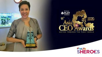 Connected Women CEO Honored as Finalist for the Asia CEO Awards InLife Sheroes of the Year