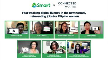 Smart - Connected Women partnership: Fast-tracking digital fluency in the new normal, reinventing jobs for Filipino women