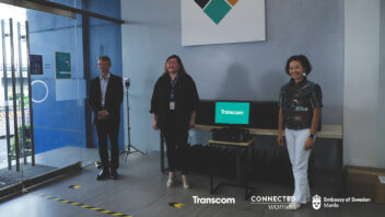 Swedish Embassy and Transcom PH turn over desktop computers to Connected Women