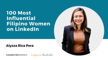 IMPACT Alyzza Rica Pera – 100 Most Influential Filipino Women on LinkedIn