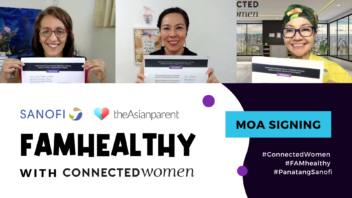 Connected Women and Sanofi Sign Agreement to Empower Filipinas at Work And Healthcare